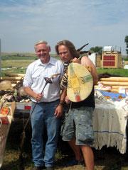Larry und Dirk - keine Angst, nur unser Reiseleiter