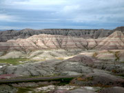 am Big Foot Pass in den Badlands