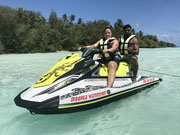 excursion tour privée en jet ski à moorea