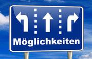 Berufliche Neuorientierung: Entscheidungen, Abbiegen