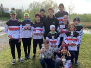 Das erfolgreiche Team in Goldach