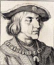 Kaiser Maximilian I. geb, 22. Januar 1459 gest. 12. Januar 1519