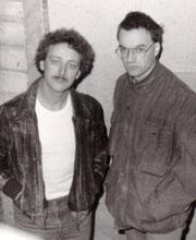 Rainer und Michael die Gründer der Band Elegant