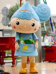 東久留米市地域資源PRキャラクター「湧水の妖精るるめちゃん」