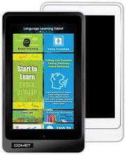 Android Tablet zum Lernen Übersetzen und Nachschlagen