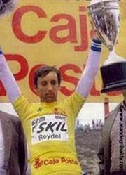"Avec le maillot ""amarillo"""