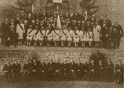 Katholische Fahnenweihe zu Langenprozelten 1930