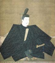 源頼朝画像。京都・神護寺蔵