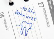Damit Sie Ihren Zahnarztbesuch nicht vergessen, bieten wir Ihnen unseren Erinnerungsservice (Recall) an. (© Doc RaBe - Fotolia.com)