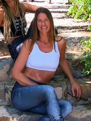 gesche hartmann is our lovely yoga teacher vegan cook and super host with perfection in organisation