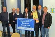 Glückwunsch-Urkunde vom Verein Energiebündel Roth-Schwabach eV