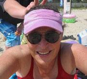 At the beach, 2012