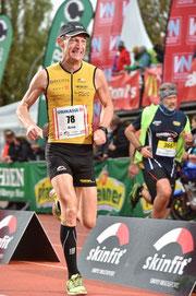 Arno beim Marathon 2017