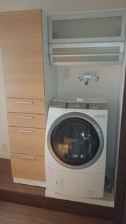 洗濯機まわりリフォーム事例