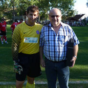 Jagawirt Fritz Karl SV Manhartsberg Matchballspende