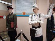 В залах музея милиции