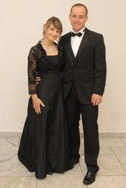 Micha und Ich im letztem Jahr