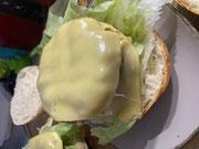Lecker Burger mit Cheese