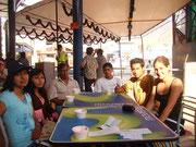 Treffen der Stipendiaten mit Isabel