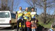 Els 3 corredors del club, Abel, Josep i Natali