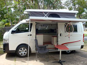 Pop top Hiace Campervan