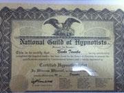 米国催眠士協会(NGH)認定ヒプノセラピスト