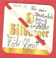 """Orginal Autogramm von """"Fidi Low""""."""
