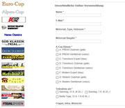 A-Cup Limberg: Wer voranmeldet, hat Vorteile!