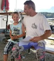 Frank Ortner, Rechts gemeinsam mit Vincent Huth beim A-Cup in Kufstein, 2011. Image: Diestinger