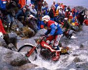 Thierry Michaud, Fantic 301, 1985 SSDT. Image: www.vintagedirtbikeparts.net