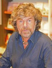 Reinhard Messner, Extremalpinist und Yeti-Spezialist. Image: www.wikipedia.at