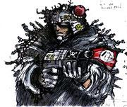 Les gardes Bande dessinée Fenice