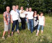 Johannes Neuberger, Heidi Hahnekamp, Christian Schmall, Hans Moser, Herbert Zechmeister, Thomas und Andrea Steiner, Martha Zeltner