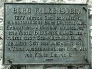 Burgruine Falkenstein Pfronten