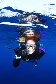 Scuba diving villefranche