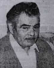 Johann Reinhardt, Nürtingen, 1991, Foto: Abbildung aus der Schwäbischen Zeitung, Ausgabe  Ehingen, Nr. 46, vom 22. Februar 1991, mit freundlicher Genehmigung, alle Rechte vorbehalten