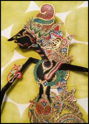 Wisnu vishnu Wayang Textiil Blog