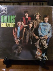 当店所有のHollies/Best盤