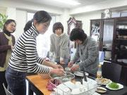 食育ランチの様子@BMD東京サロン