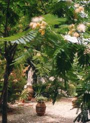 Vergine col bambino nel giardino del Carmelo
