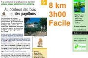Randonnées autour de Condé en Brie champenoise, en vallée de la Marne et du Surmelin