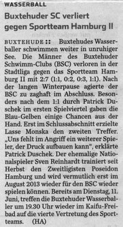 Hamburger Abendblatt vom 10.06.2013