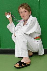 Kilian Prevost se classe 2ème