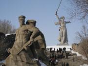 Сталинградская битва - Волгоград - Мамаев курган