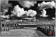 Galerie photo noir et blanc Cloudy Sky
