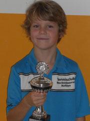 Toller zweiter Platz für Max Reinhart in der Alterklasse U10