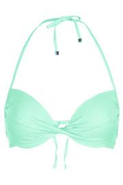Topshop aqua plunge bikini