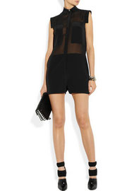 Alexander Wang black playsuit