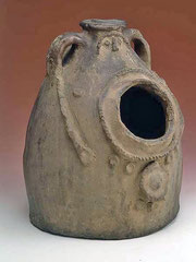 Глиняный сосуд для соли. Армения. XIX  век. РЭМ.