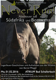 "Poster ""Abenteuer Wildnis- Afrika"""